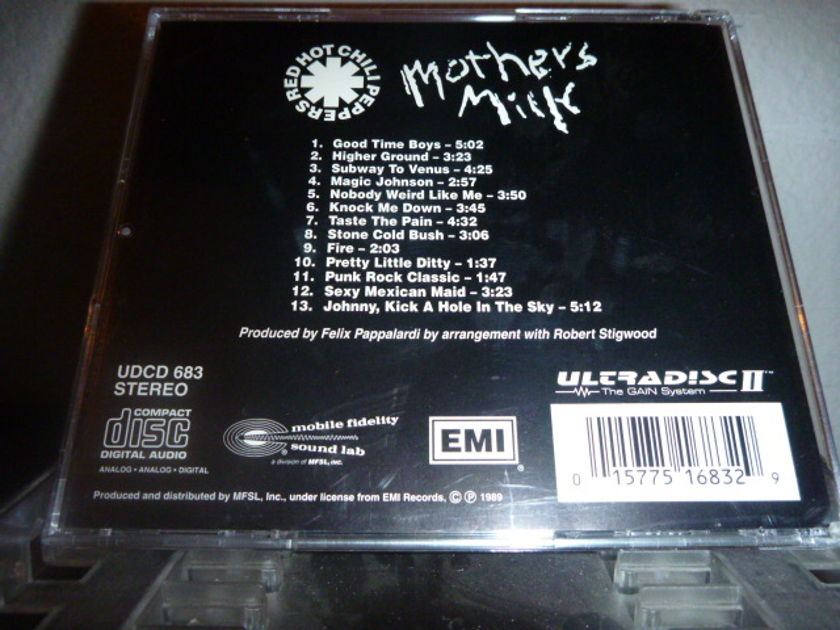 Red Hot Chili Peppers - Mothers Milk Mobile Fidelity