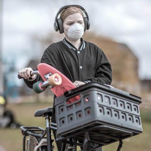masque filtrant protection respiratoire