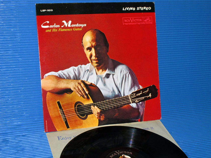 "CARLOS MONTOYA -  - ""Carlos Montoya & His Flamenco Guitar"" -  RCA Black Dog 1961"