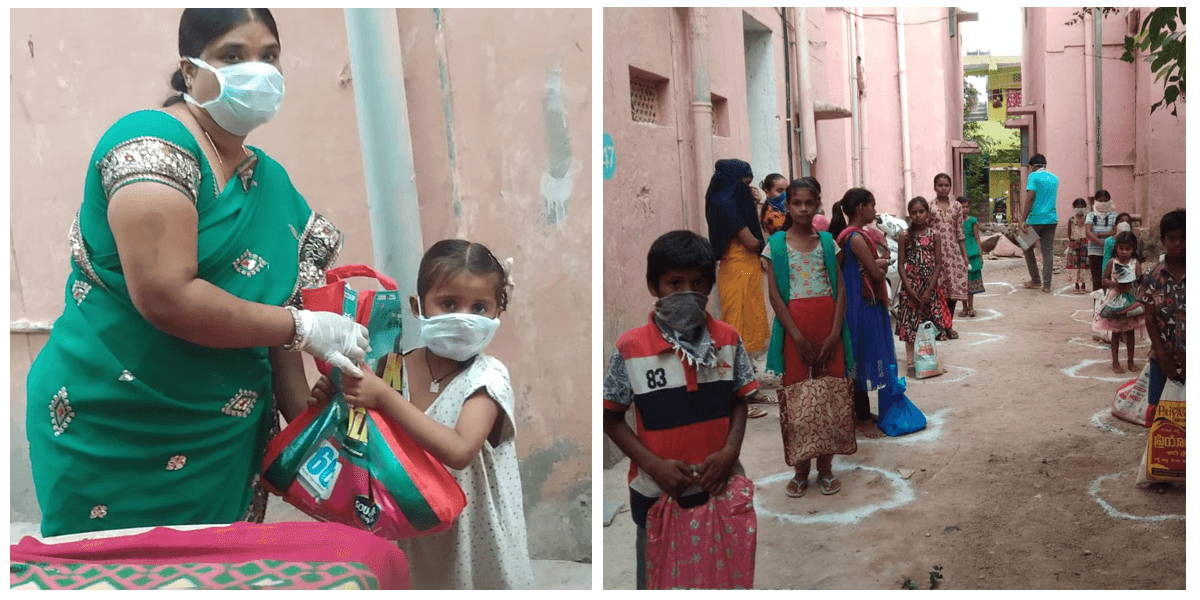 City streets and kids in India during Covid-19 by the Global Orphan Project