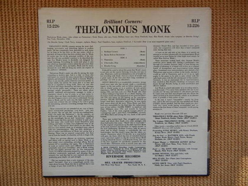 Monk - Brilliant Corners Riverside RLP 12-226