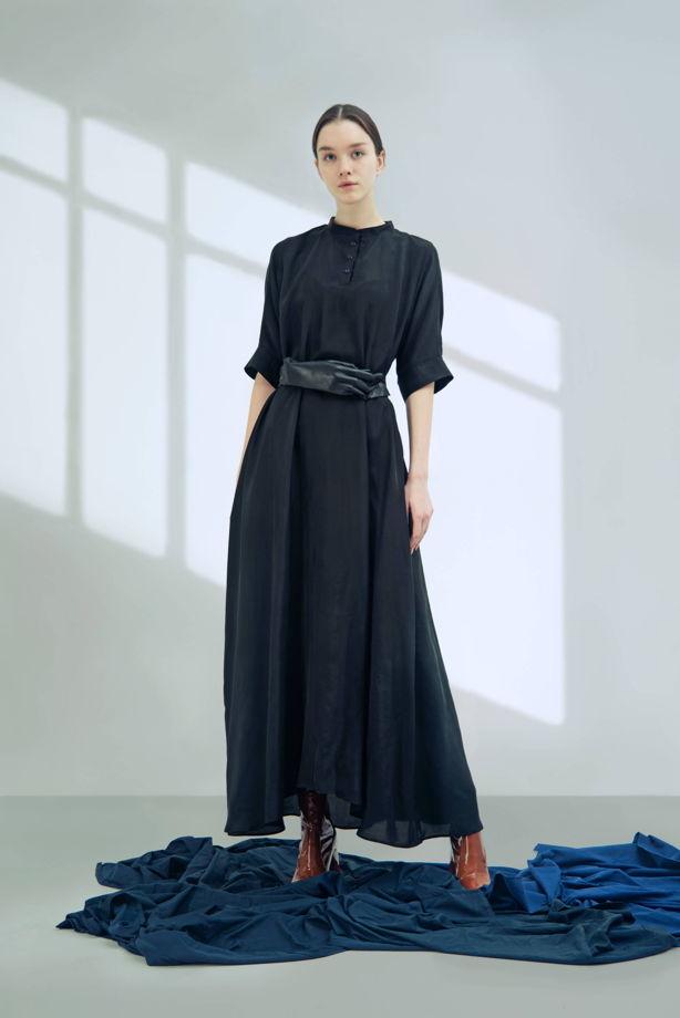 Платье женское из варёного шёлка