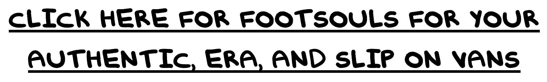 footsouls for slip on vans