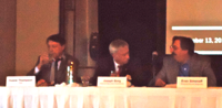Advisor Town Hall panel: Duane Thompson, Joseph Borg and Evan Simonoff