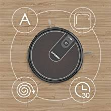 Aposen robot vacuum cleaner with High Efficiency Filter