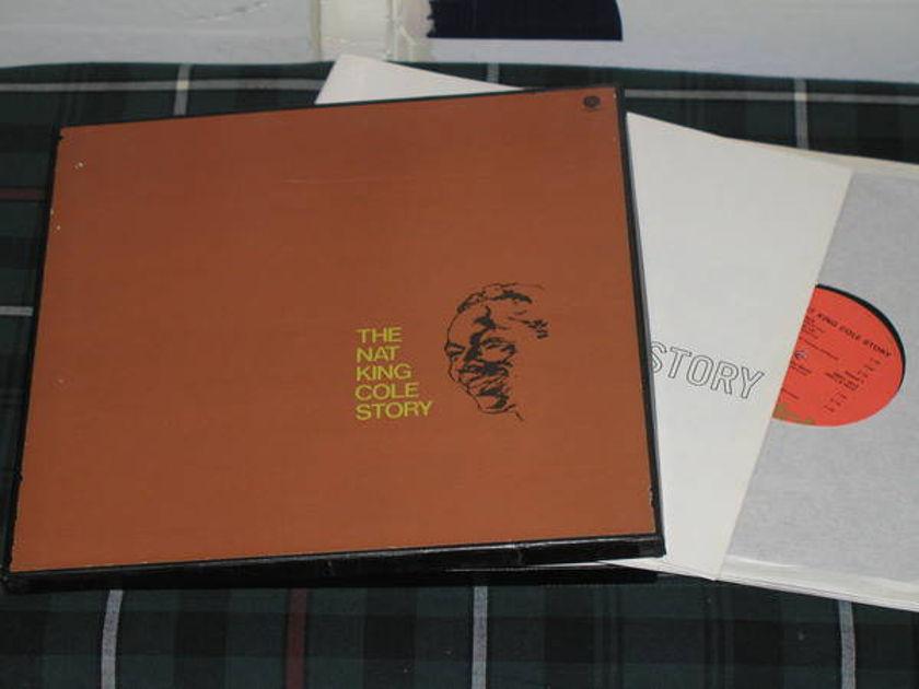 Nat King Cole - Nat King Cole Story Capitol 3 lp boxset w/book