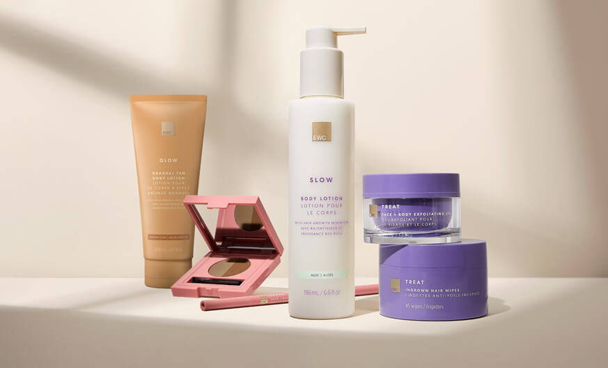 make up, lotion, and skin care products