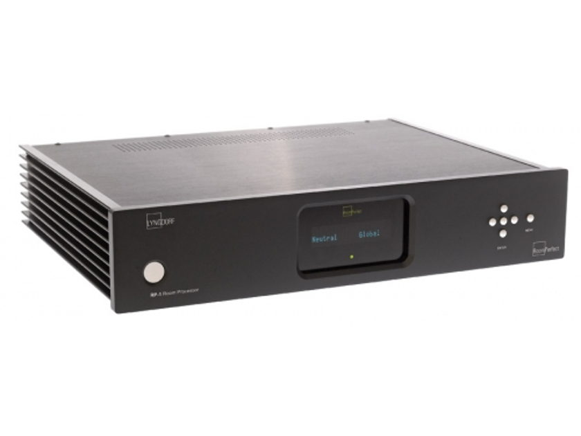 Lyngdorf Audio RP-1 Room correction and crossover Best bang for the buck