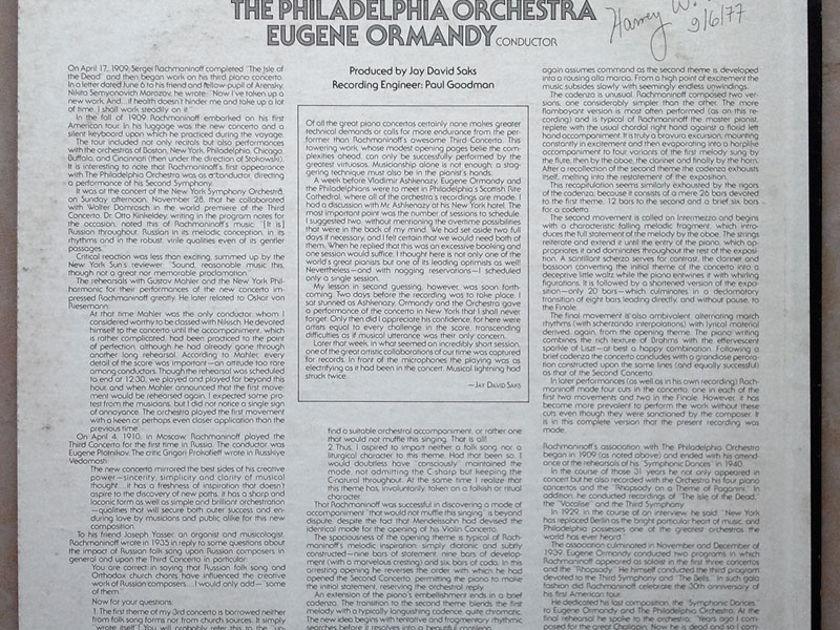 RCA   ASHKENAZY/ORMANDY/RACHMANINOFF - Piano Concerto No. 3 / NM