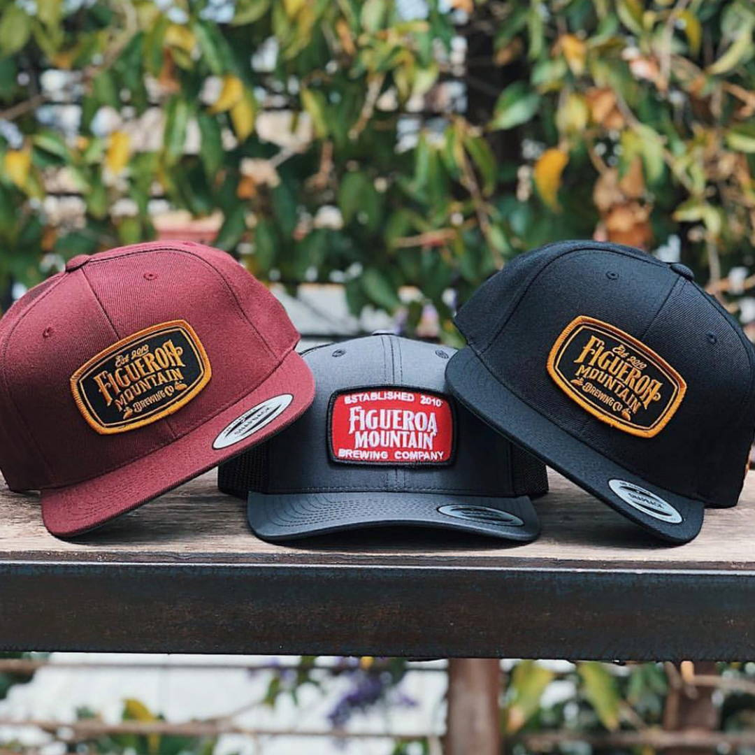 Custom hat design for Figueroa Brewery