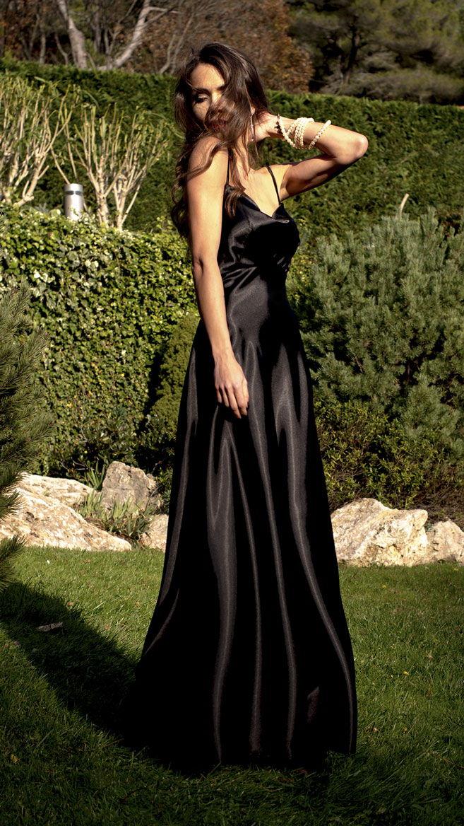 Платье Black Silk