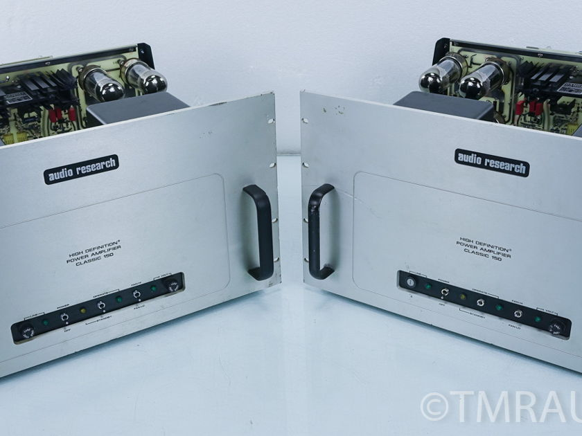 Audio Research Classic 150 Tube Monoblock Amplifier Pair (6741)