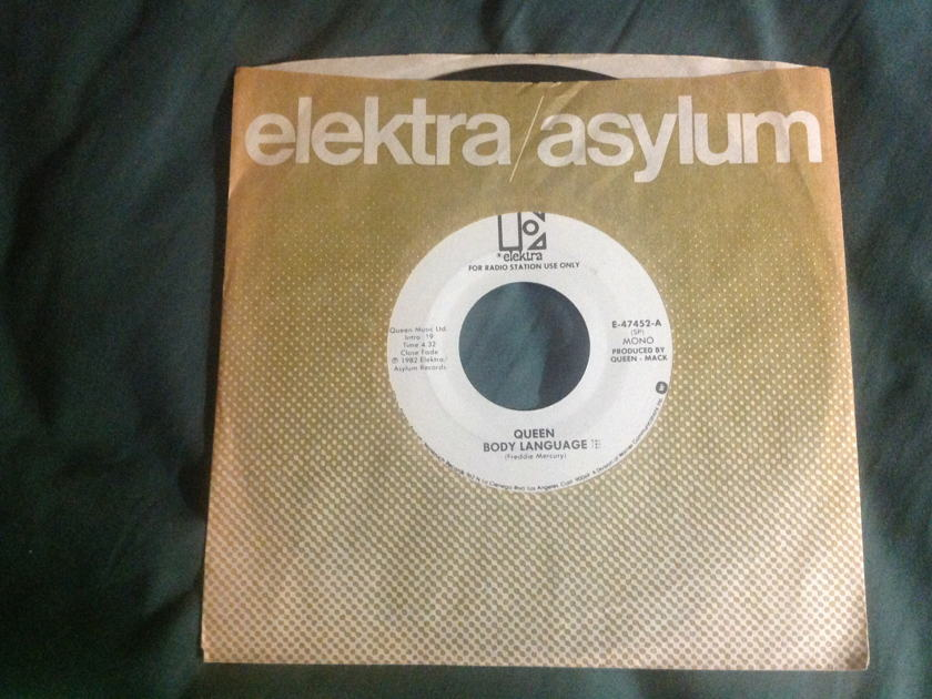 Queen - Body Language Promo Mono/Stereo 45 NM