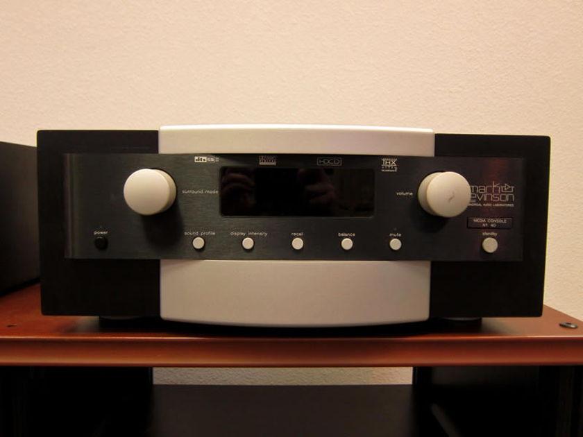 Mark-Levinson No. #40 Media Processor Video And Audio Processors