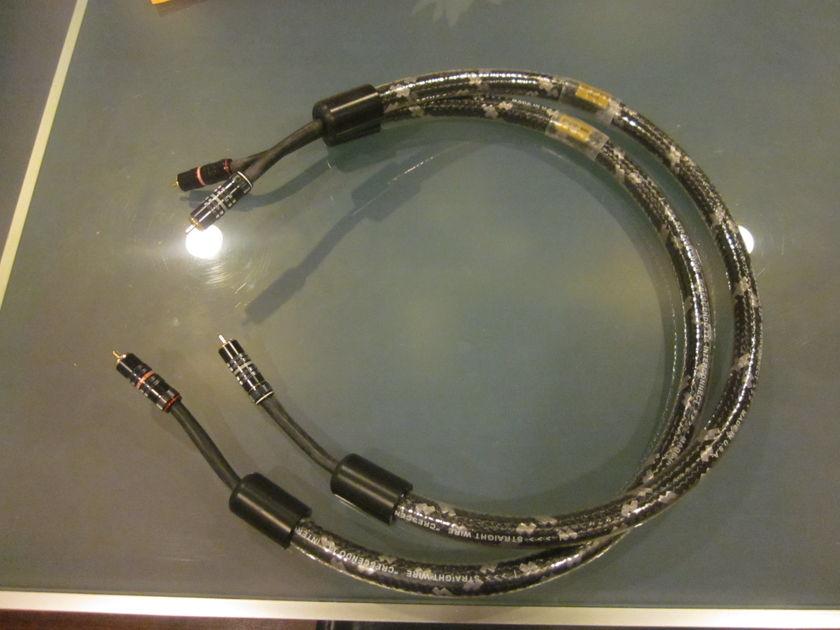 Straight Wire - Straightwire IC Crescendo II 1M RCA