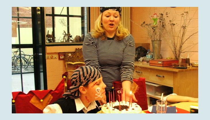 labyrinth kindermuseum geburtstags kuchen