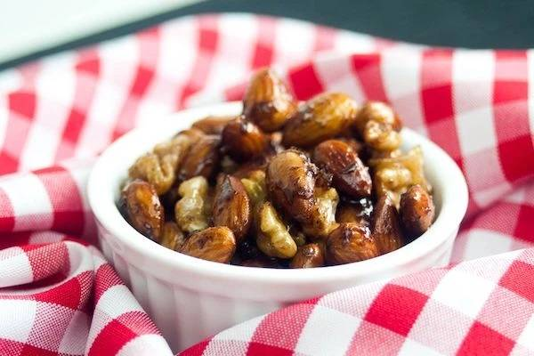 Cinamon Almonds and Pecans