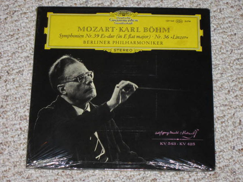Dgg (Sealed) - Mozart, Karl Bohm six symphony set