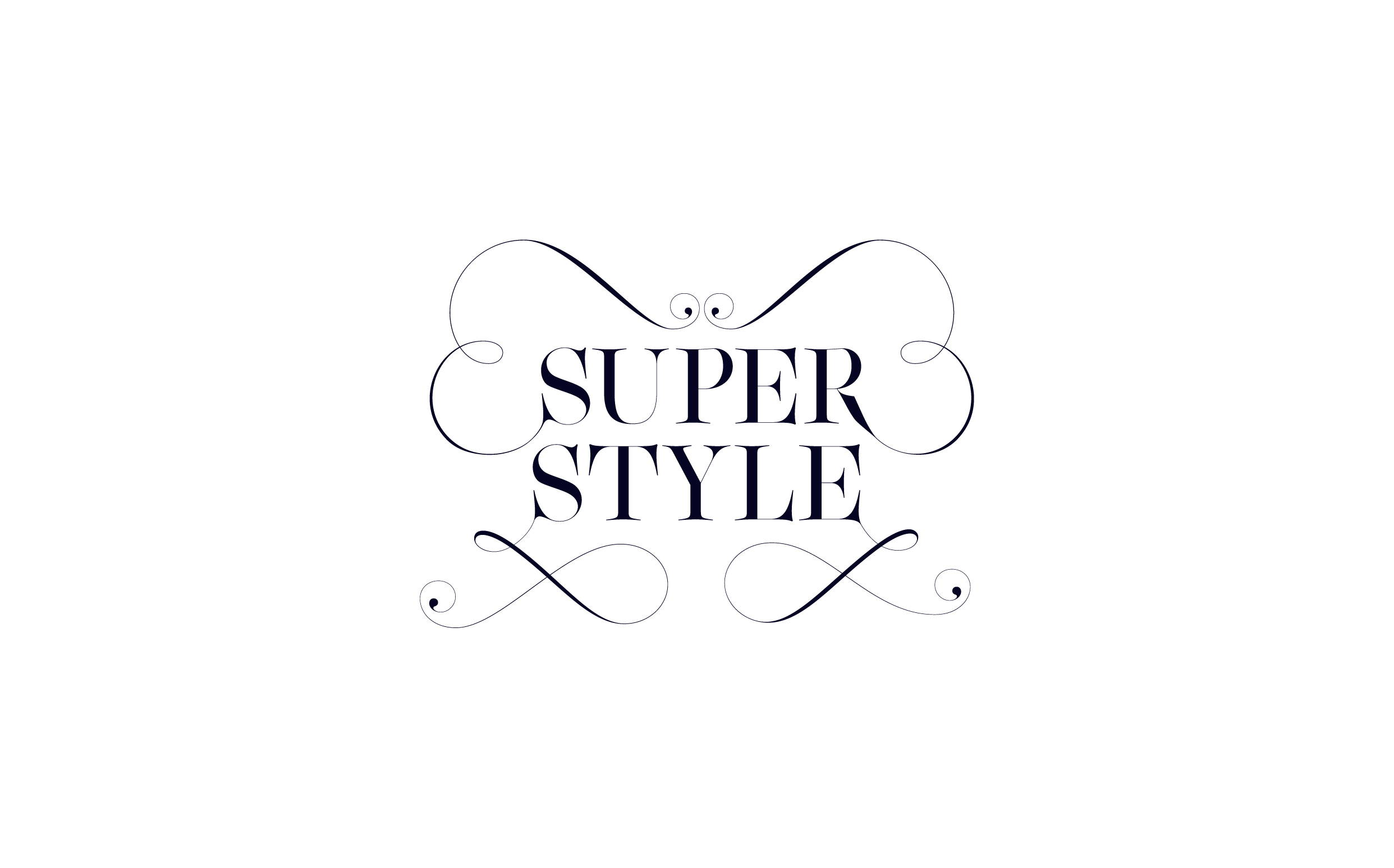 Super Style - Custom sexy type collection by Moshik Nadav Typography