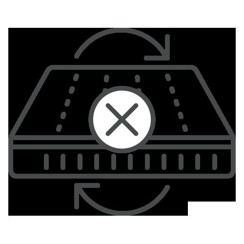 Don't Flip or Turn Your mattress - Care Instructions for Duroflex Back Magic Orthopedic Coir Mattress