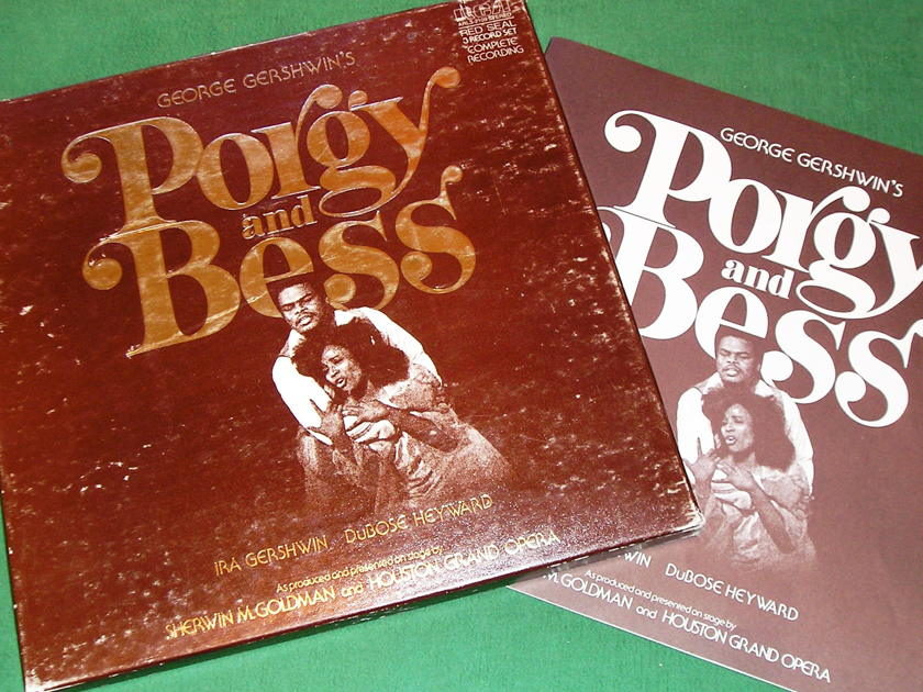 IRA GERSHWIN - PORGY & BESS -  - 1977 RCA RED SEAL  ** VINYL NM 9/10 **