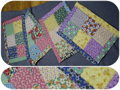 Handmade Quilt Placemats - Set of Four