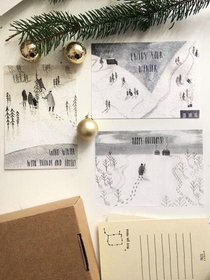 "Набор открыток ""Warm Winter"""