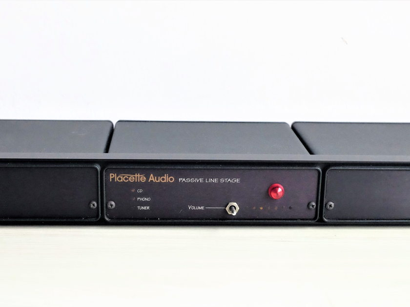 Placette Audio |  Passive Linestage Pre-amp  | Free Worldwide Shipping