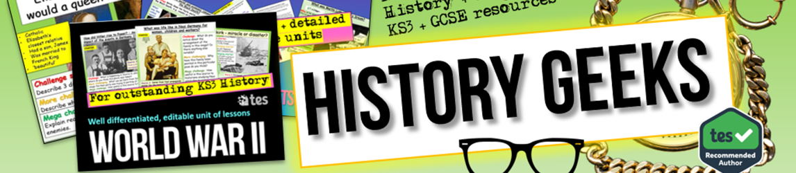History and Geography KS3 and GCSE resources