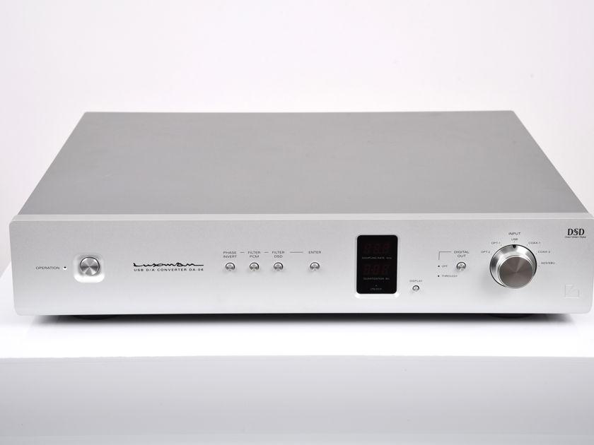 Luxman DA06 DSD and PCM DAC