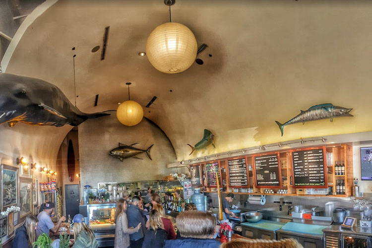 Bear Flag FIsh Co Crystal Cove Location