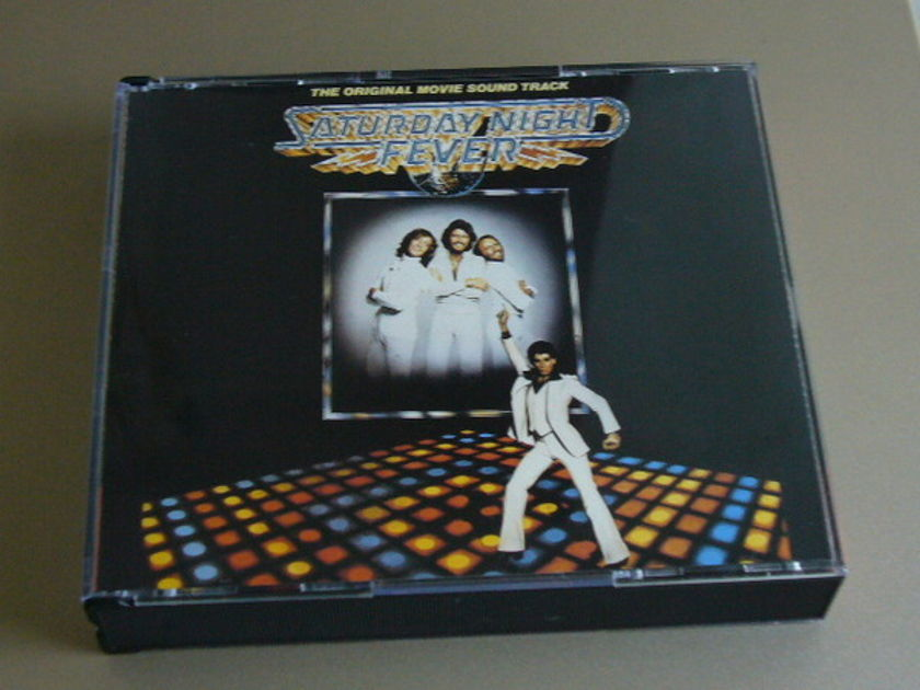 Bee Gees -  - Saturday Night Fever (West Germany, Red Face, 1st edition)