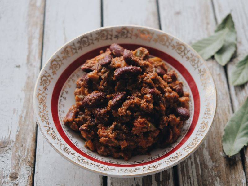 chilli con carne la boite du chef