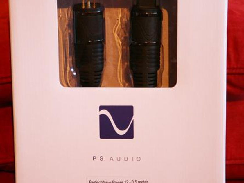 PS AUDIO Perfect Wave 12 .5m AC Power Cord
