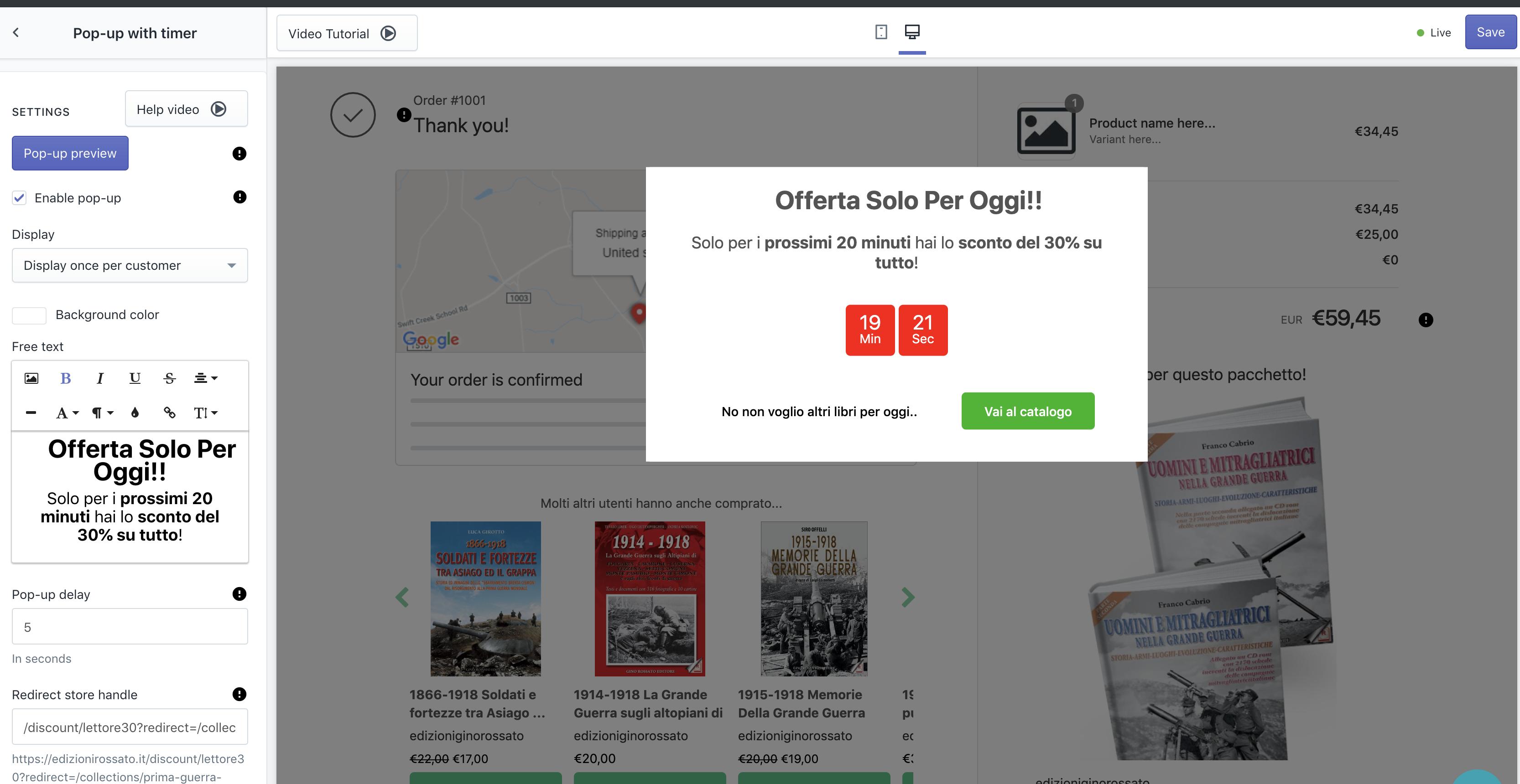 Incremantare vendite Shopify poco traffico