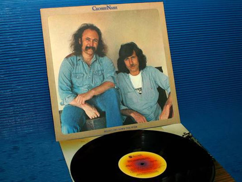 "CROSBY/NASH -  - ""Whistling Down The Wire"" - ABC 1976 Hot Stamper"