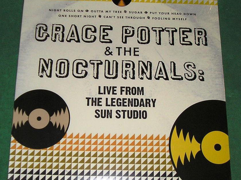 GRACE POTTER - 2-LP COLLECTION - LIVE FROM SUN STUDIO & MIDNIGHT * SEALED *