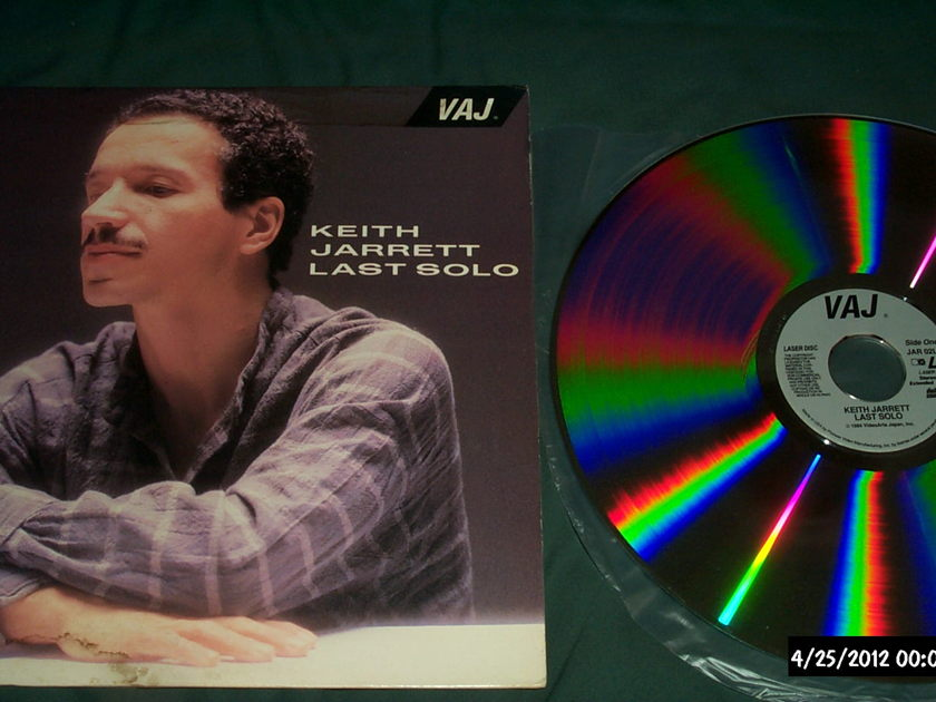 Keith Jarrett - Last Solo Rare Laserdisc Tokyo 84