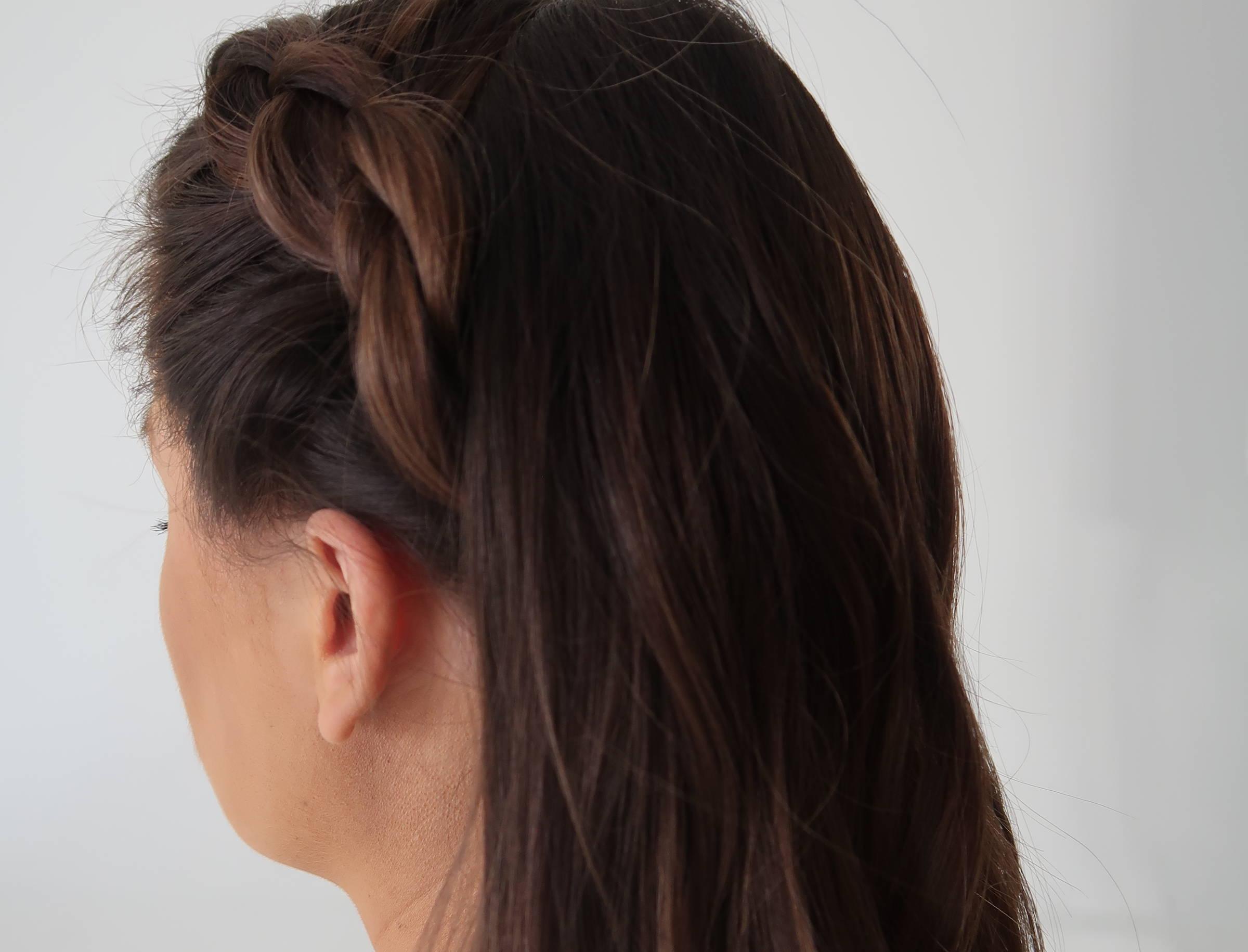 Davines side braid summer hair ideas