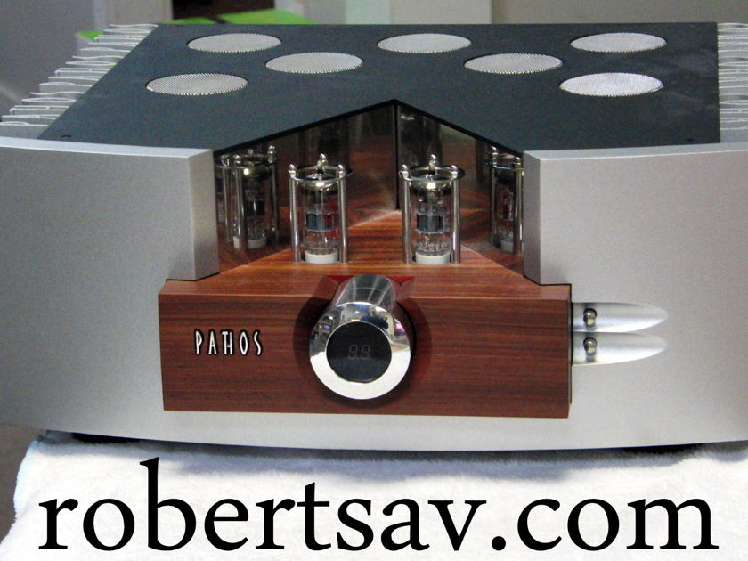Pathos Logos  Tube/Solid State 110 watts /channel Integrated amp