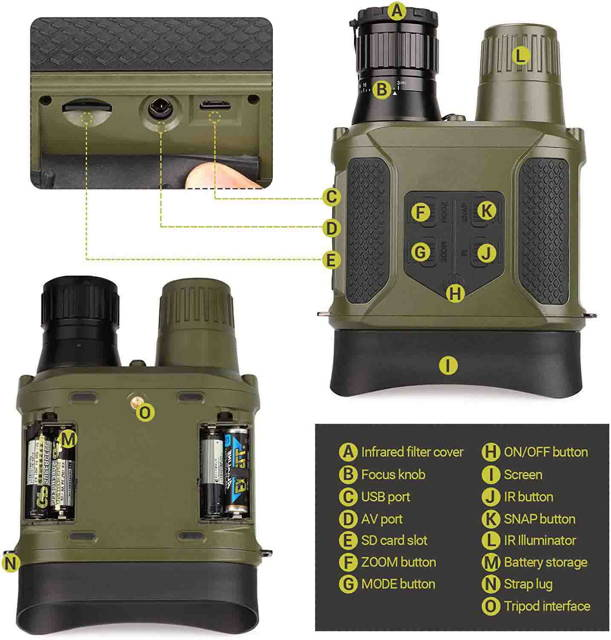 night vision binoculars for sale
