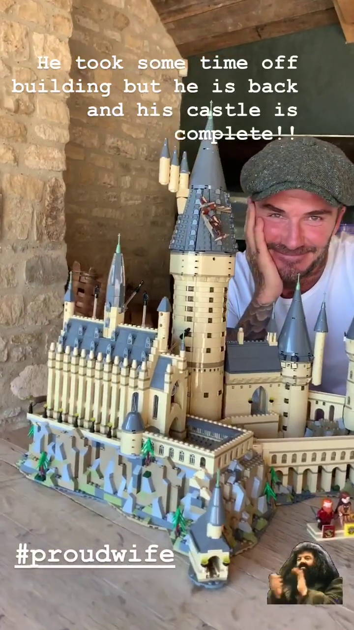 David Beckham lego