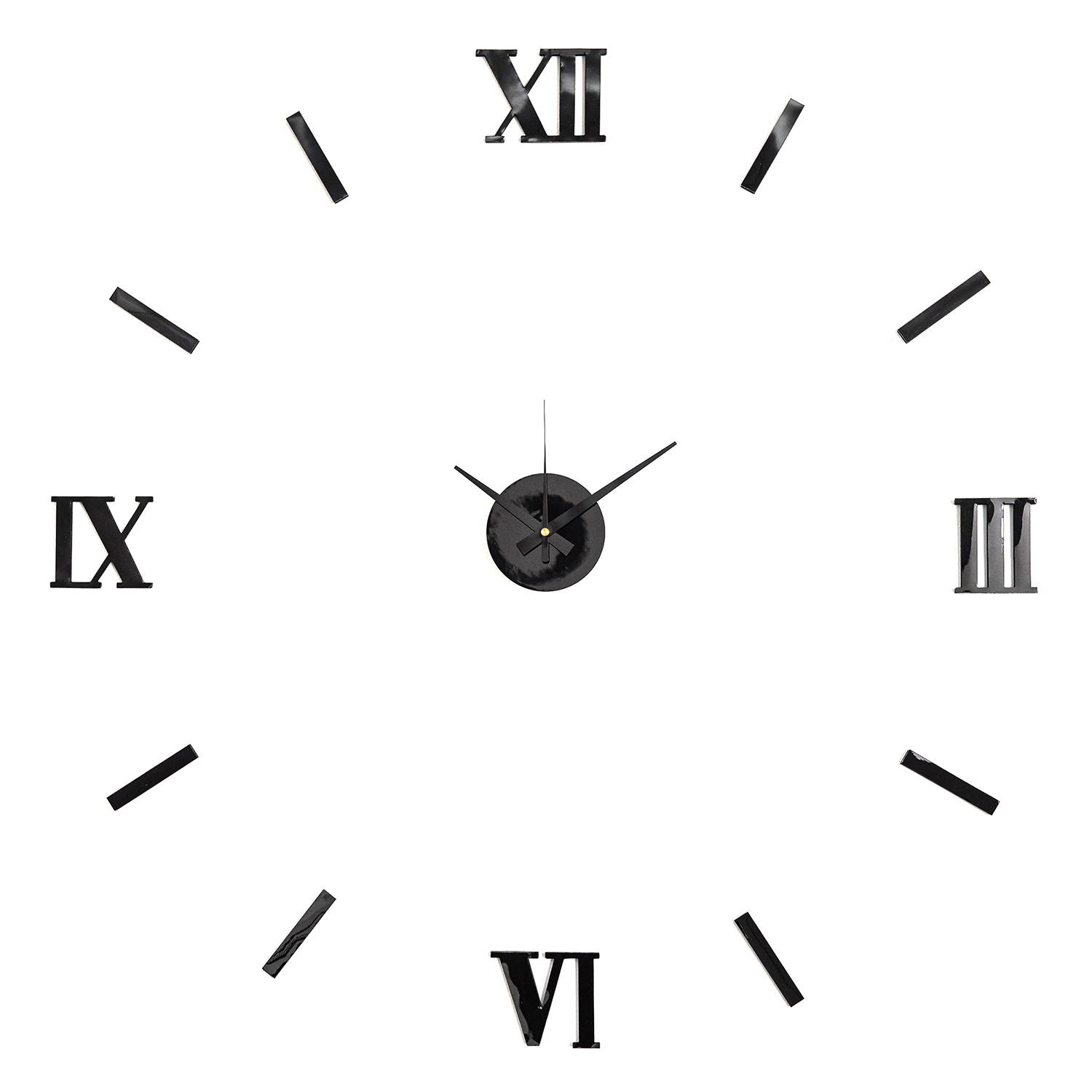 Stylish Stick-on Clock