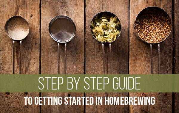 step by step guide to homebrewing