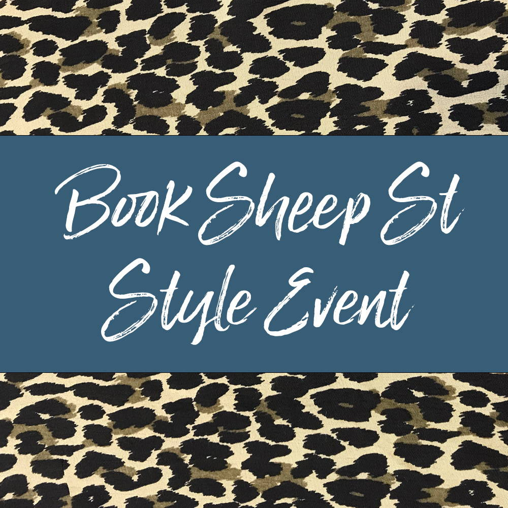 Book Sheep St Style Event
