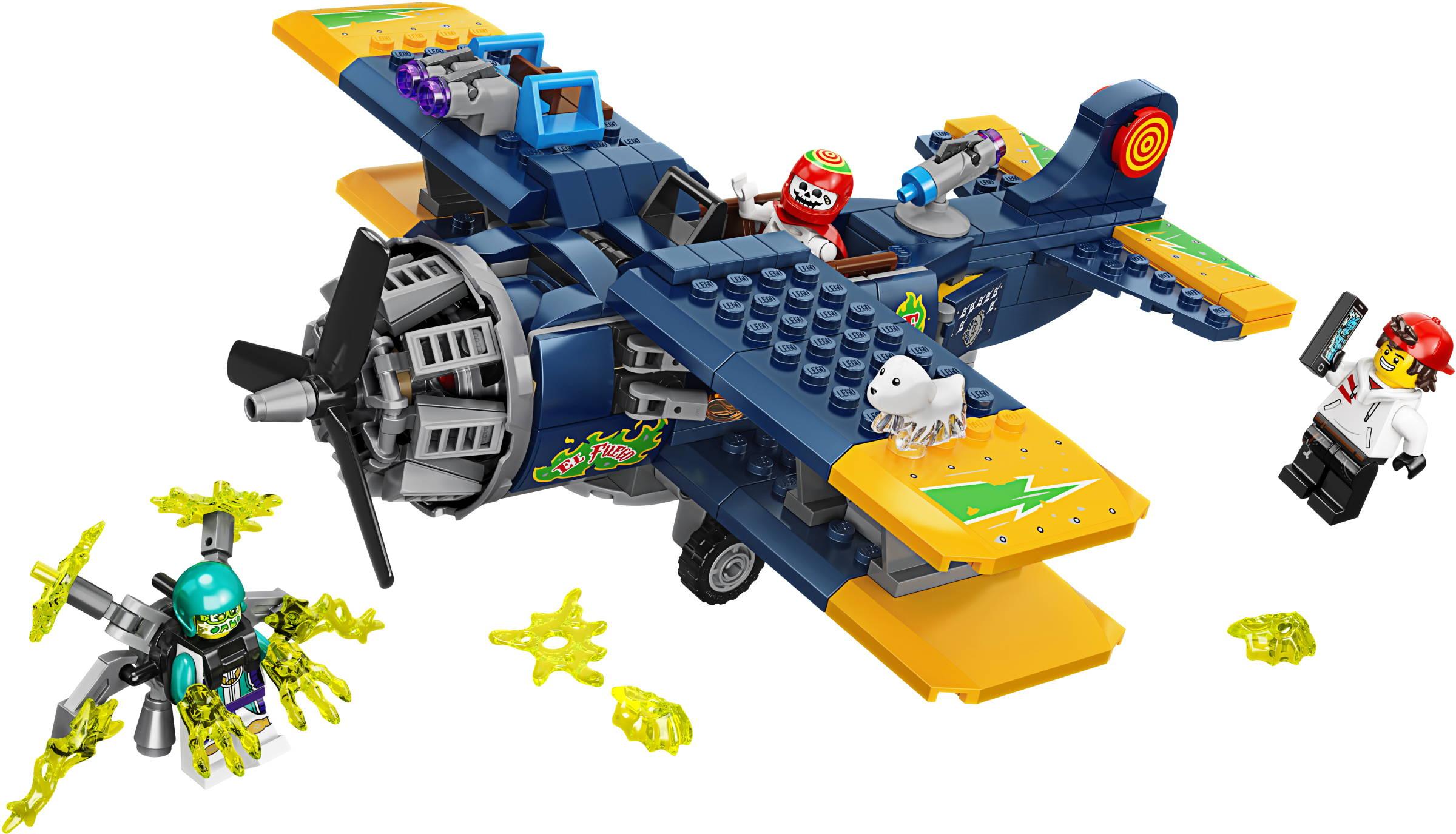 70429-1: El Fuego's Stunt Airplane