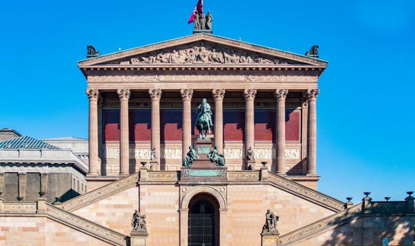 Входной билет без очереди в Старую национальную галерею Берлина (Alte Nationalgalerie)