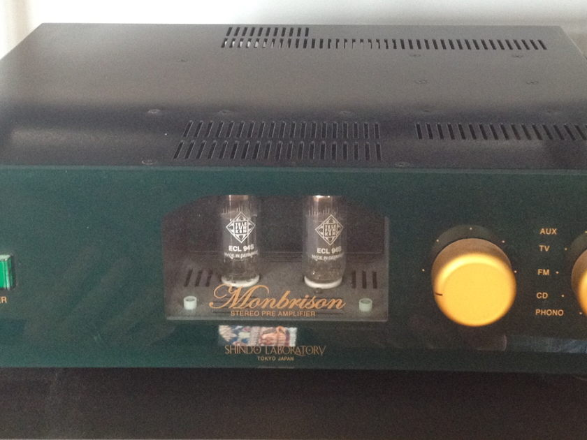 Shindo Labs Monbrison Preamplifier with phono mc/mm