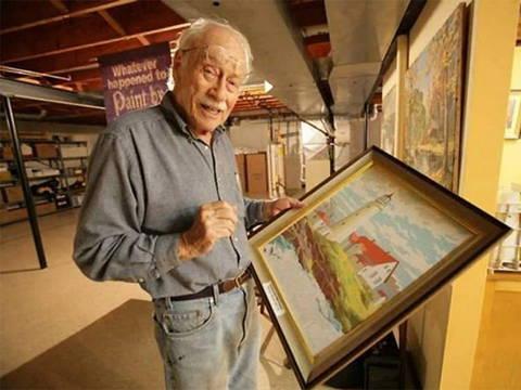 Article de blog nommé Dan Robbins l'inventeur de la peinture par numéros