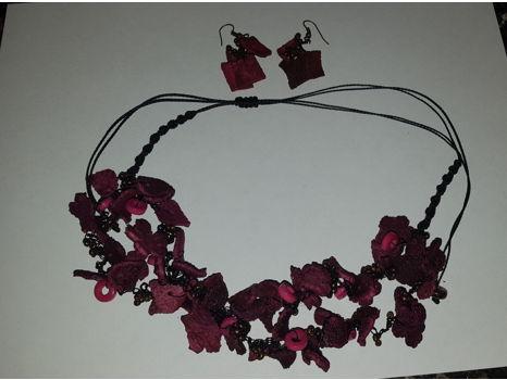 Ecuadorian Necklace and Earrings
